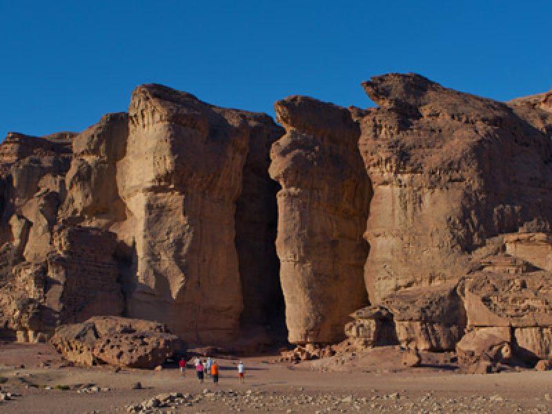 Deserto dell'Arava - Timna