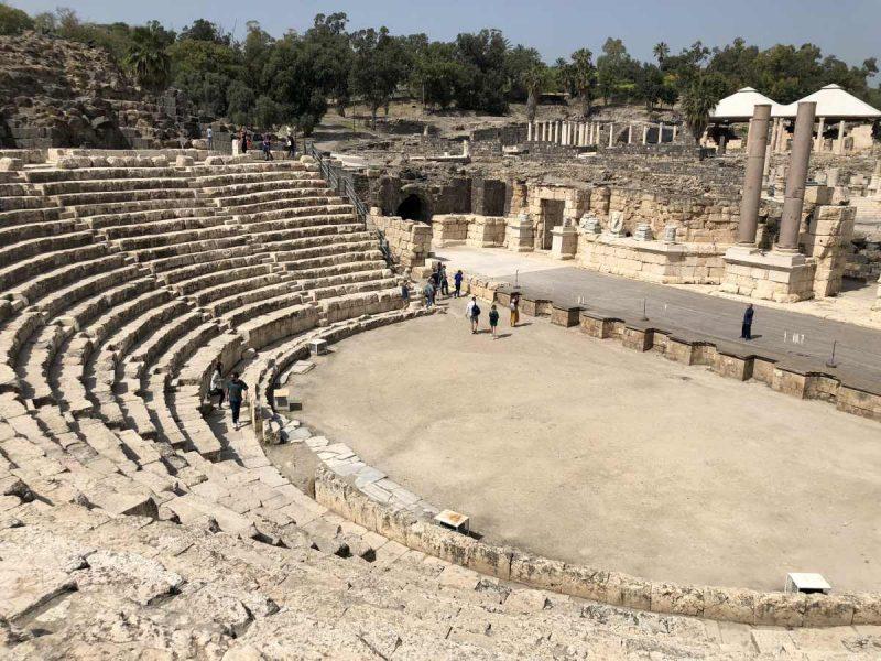 Beit She'an Teatro Romano